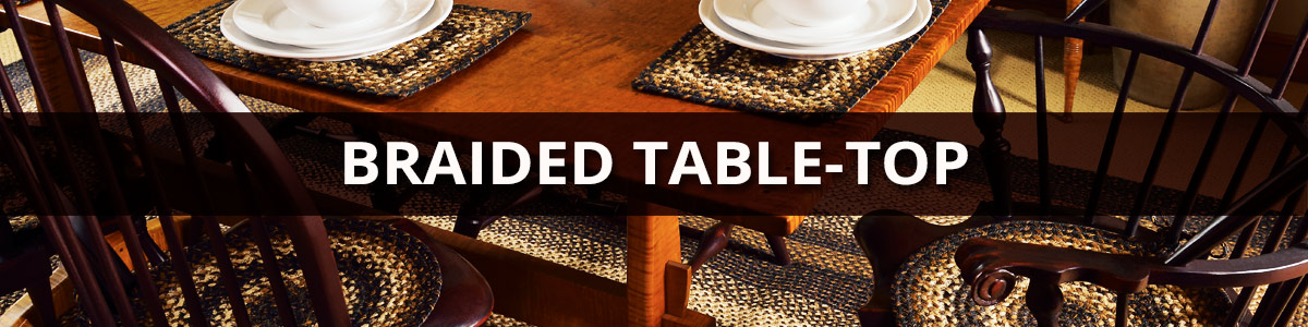 Braided Table-Top