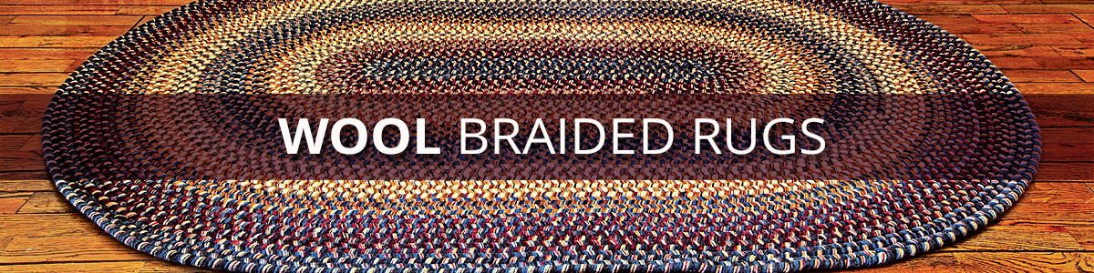 Wool Braided Rugs