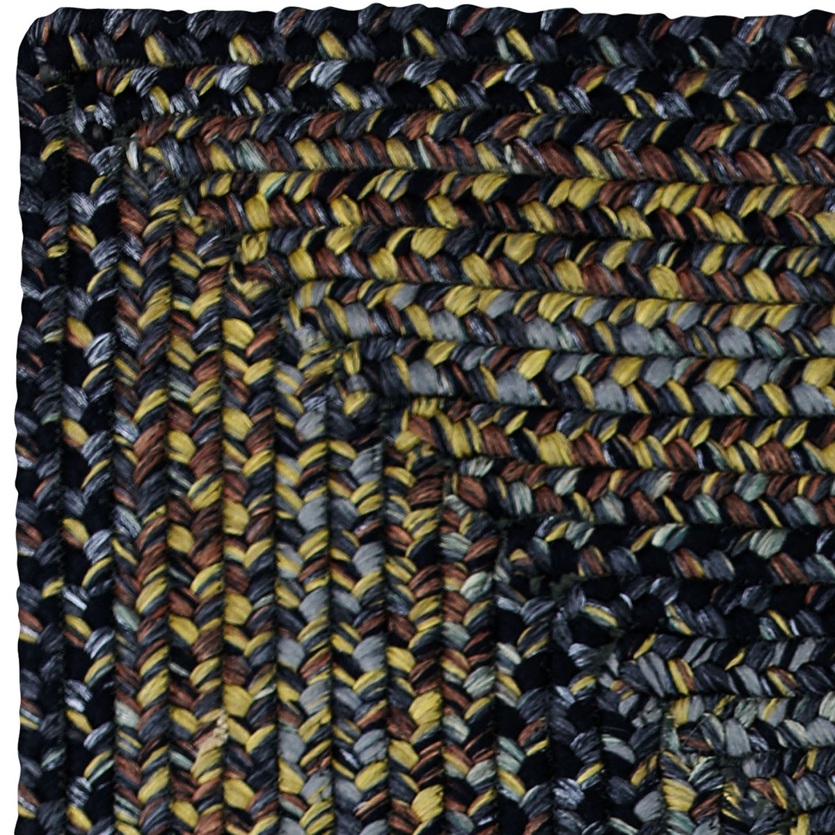 Black Forest Outdoor Braided Rugs