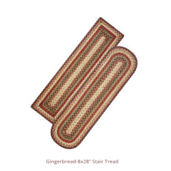 Gingerbread Jute Stair Tread Or Table Runner