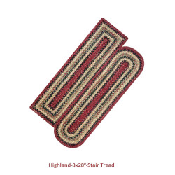 Highland Jute Stair Tread Or Table Runner