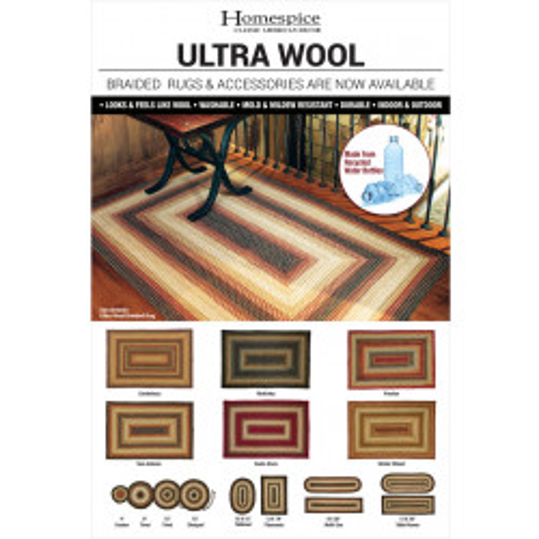 Ultra Wool Poster 12 x 18