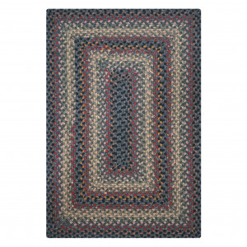 Enigma Black - Grey Cotton Braided Rugs