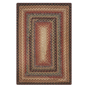Peppercorn Multi Color Cotton Braided Rugs