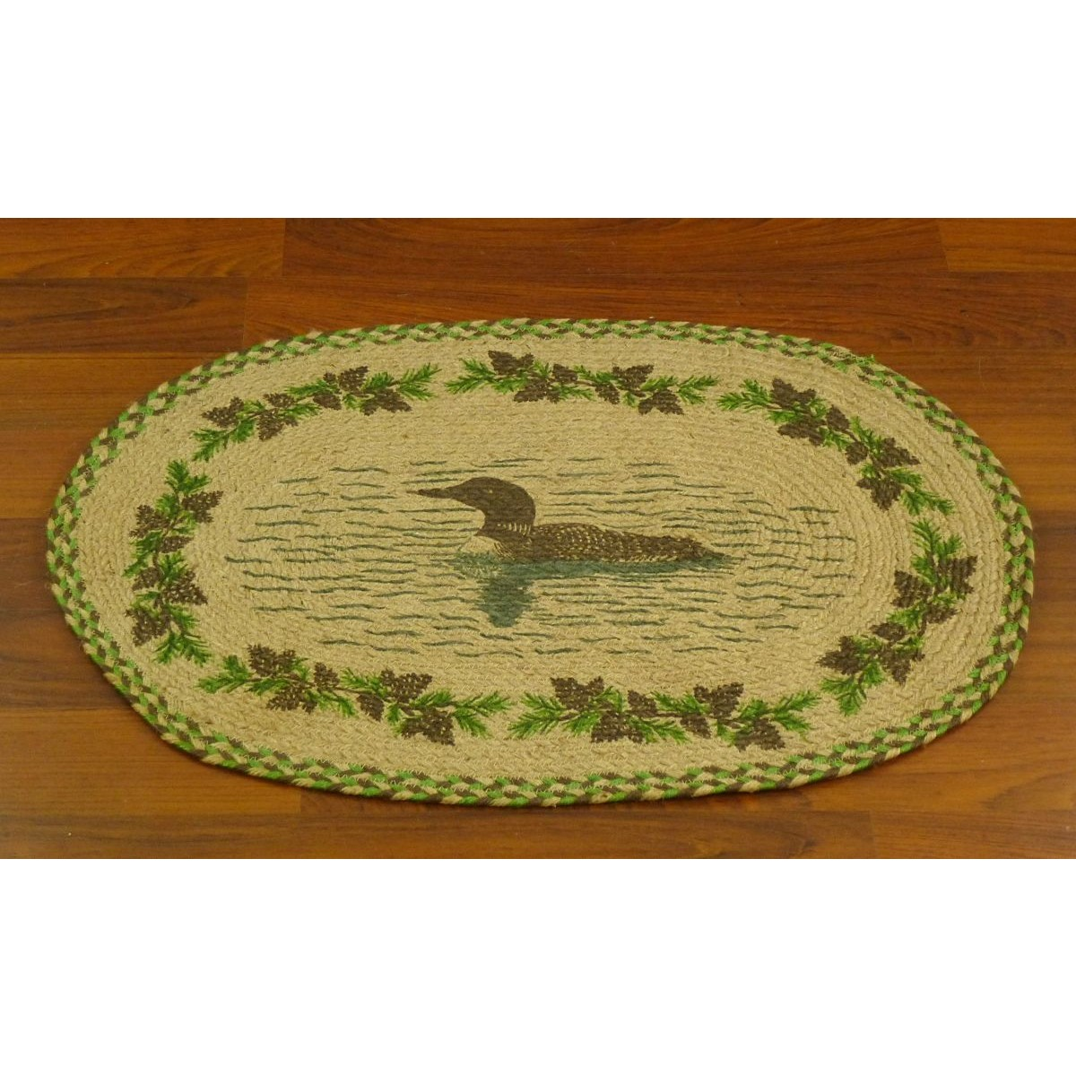 Home Clearance Jute Braided Rugs 20 X 30 Golden Pond Oval