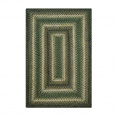 Pinecone Green Jute Braided Rugs