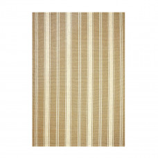 Latte Camden Stripe Khaki Ultra Wool Rugs
