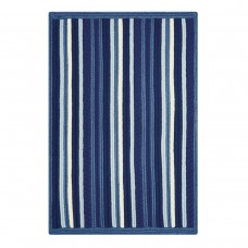 Portsmouth Stripe Blue Ultra Wool Braided Rugs