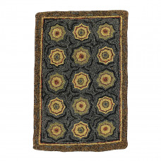 Lilly Pad Pattern Hooked Rugs
