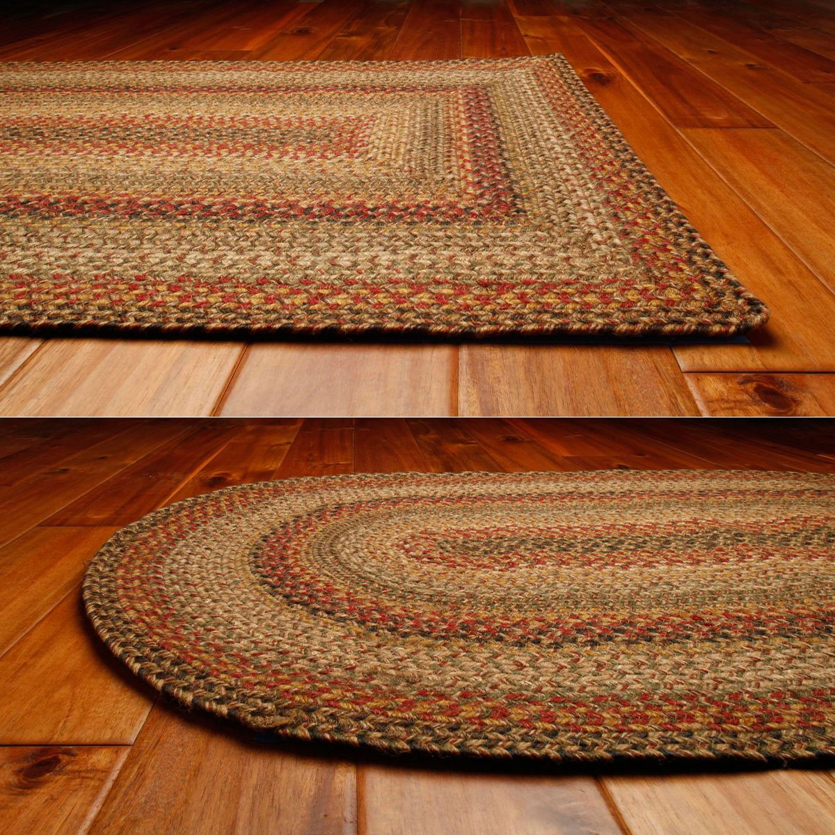 Kingston Jute Braided Rugs