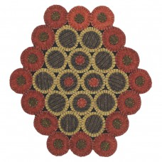"15"" x 17"" Dakota Red Table Runners"