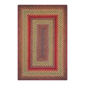 Cider Barn  Red Jute Braided Rugs
