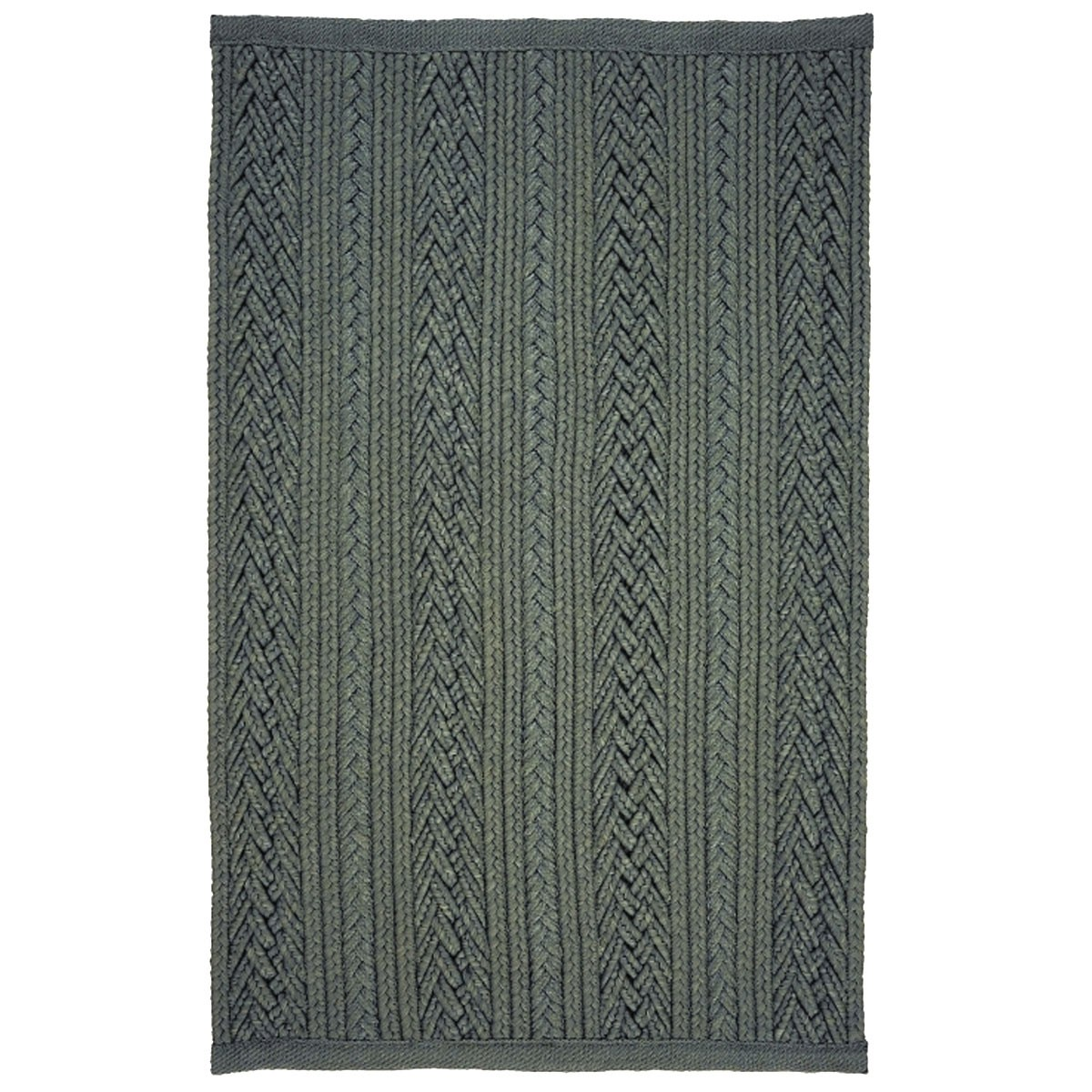 Laguna Silver Ultra Durable Braided Rugs
