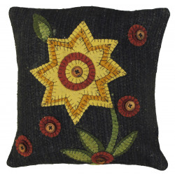 "12 x 12"" Button Blooms Pillows"
