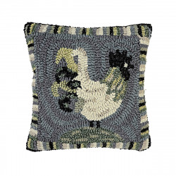 12 x 12'' Rooster Blues Pillow