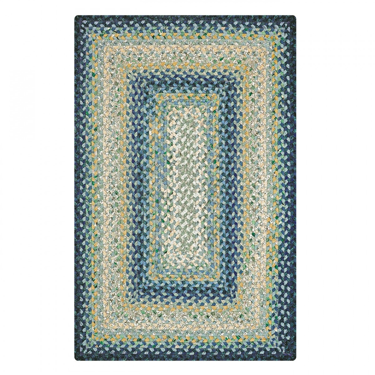Buy Wedgewood Blue Cotton Braided Rugs Online Homespice