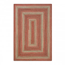 Terracotta Rusty Brown Ultra Durable Braided Rugs