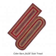 Cider Barn Blue Jute Stair Tread or Table Runner