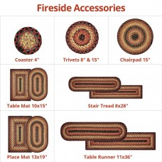 Fireside Jute Braided Accessories