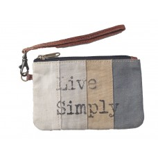 Live Simply Pouch