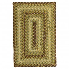 Country Walk Brown Ultra Durable Braided Rugs