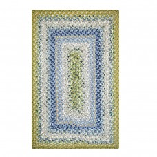 Seascape Blue Cotton Braided Rugs