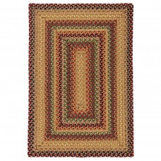 Canterbury Gold Ultra Wool Braided Rugs