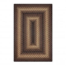 Kenya Brown Jute Braided Rugs