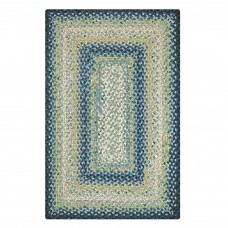 Wedgewood Blue Cotton Braided Rugs