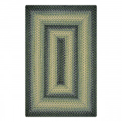 Bluegrass Blue - Green Jute Braided Rugs