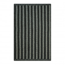 Ashford Avenue Black - Grey Ultra Durable Braided Rugs