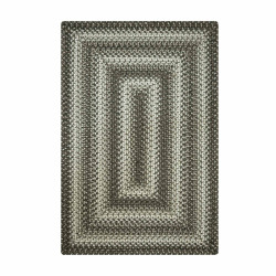 Cobblestone Dark Grey Ultra Wool Braided Rugs
