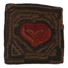 "10"" x 10"" Primitive Heart Pillows"