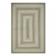 Pebble Grey Ultra Wool Braided Rugs