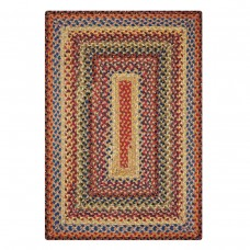 Biscotti Multi Color Cotton Braided Rugs
