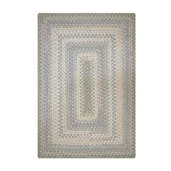 Sweetwater Lighter Sage Wool Braided Rugs