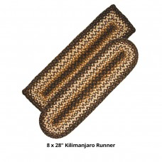 Kilimanjaro Jute Stair Tread or Table Runner