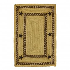Texas Brown Jute Braided Rugs