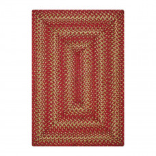 Apple Pie Red Jute Braided Rugs