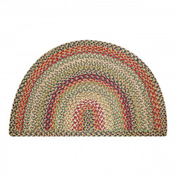Kingston Half Moon Jute Braided Rugs