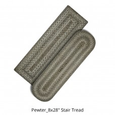 Pewter Jute Stair Tread or Table Runner