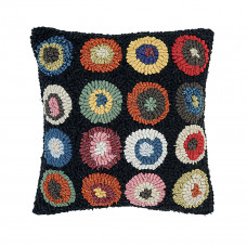 12 x 12'' Circles Bright Pillow