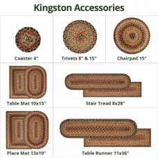Kingston Multi Color Jute Accessories