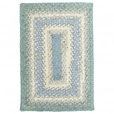 Baja Blue Cotton Braided Rugs