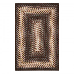 Driftwood Brown Ultra Durable Braided Rugs