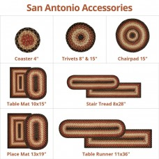 San Antonio Ultra Wool Braided Accessories