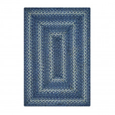 Denim Blue Jute Braided Rugs