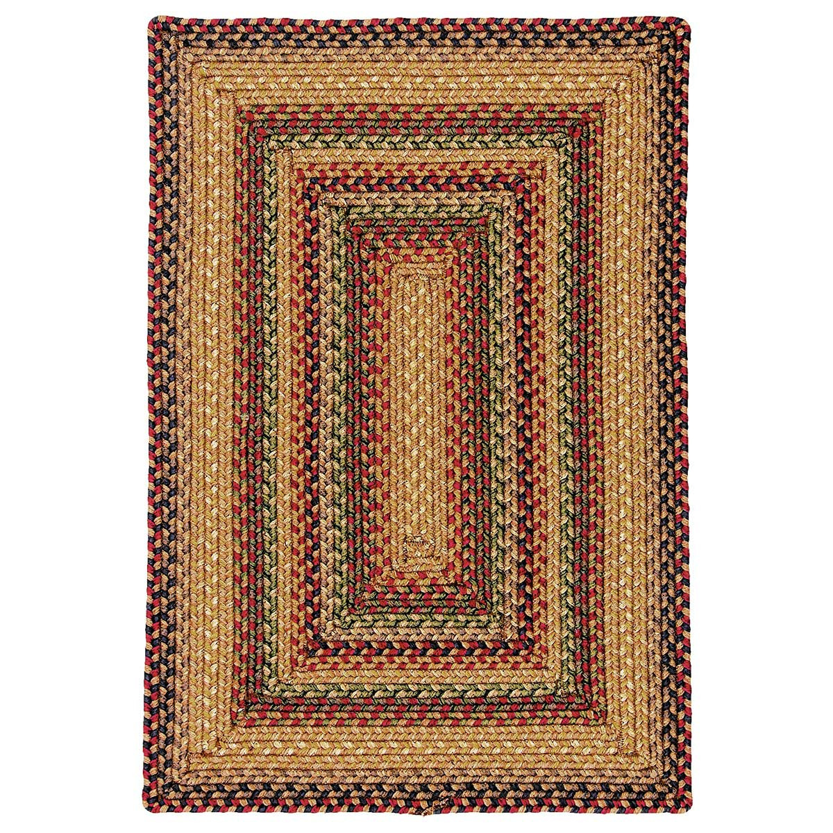 Buy Canterbury Gold Ultra Wool Braided Rugs Online