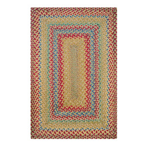 Azalea Multi Color Jute Braided Rugs
