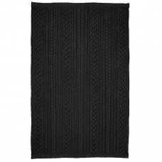 Laguna Black Ultra Durable Braided Rugs